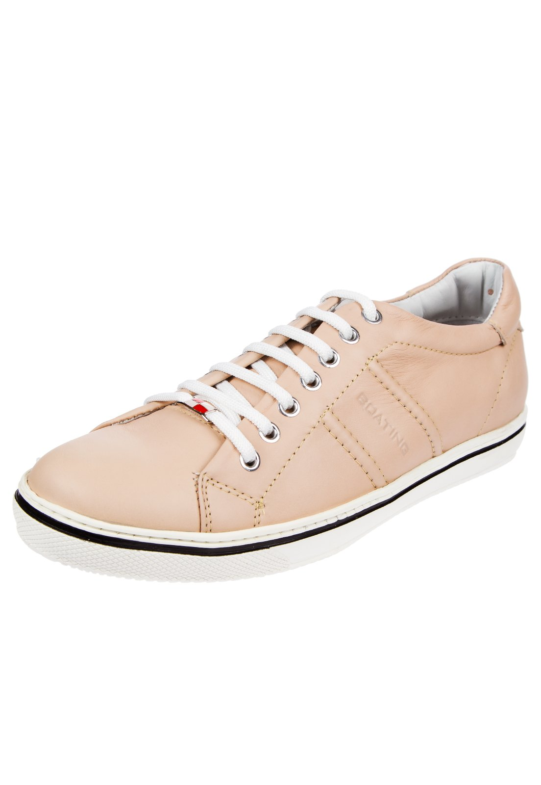 Zapatilla Beige Boating Vintage